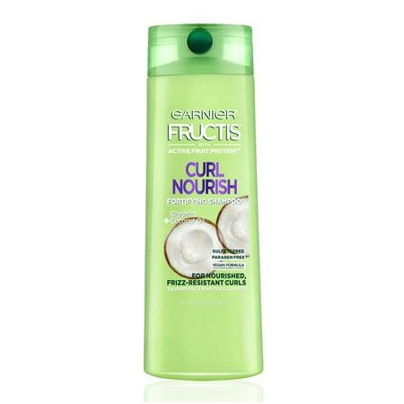 True Curls Shampoo ((2 Pack) Garnier Fructis Curl Nourish Shampoo, 12.5 Fl Oz )