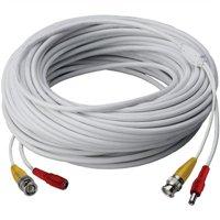 Lorex Cb120urb Video RG59 Coaxial BNC/Power Cable, 120'