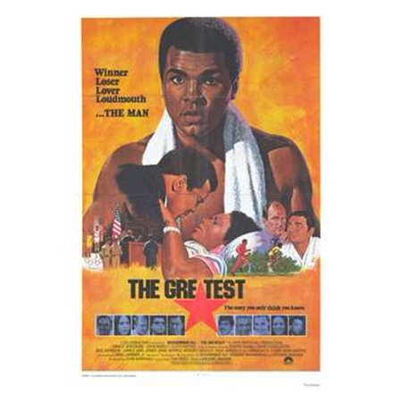 The Greatest Movie Poster  11 X 17