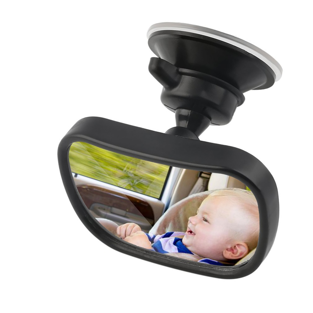 Universal Car Rear Seat View Mirror Baby Child Safety With Clip and Sucker by LESHP