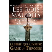 Les rois maudits - Tome 7 - eBook