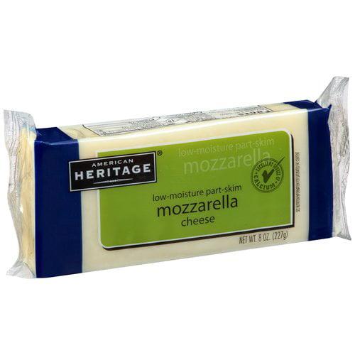 American Heritage Mozzarella Cheese, 8 oz