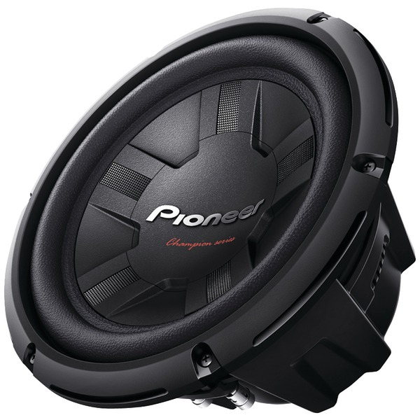 "PIONEER TS-W261D4 Champion Series 10"" 1,200-Watt 4ohm Subwoofer (Dual Voice Coil)"