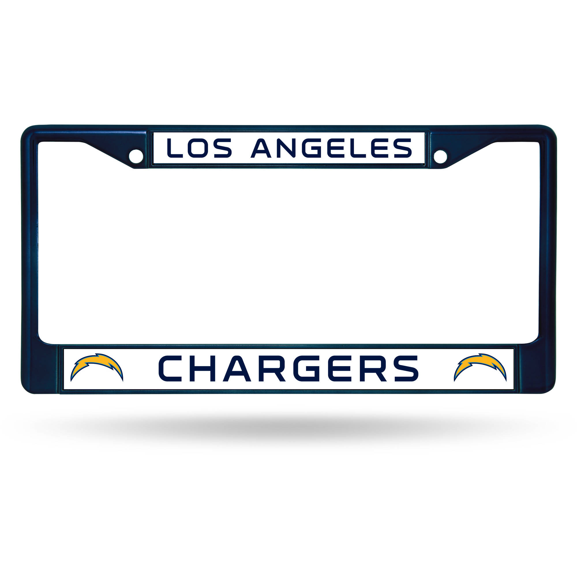 Rico Industries NFL Color License Plate Frame, Los Angeles Chargers