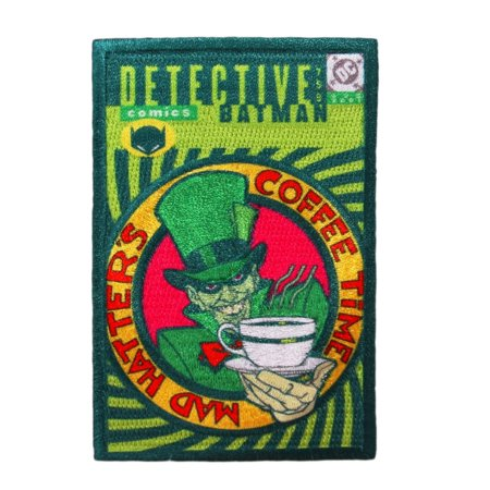 Detective Comics: Mad Hatter Batman Villain Book Apparel Iron-On Applique Patch