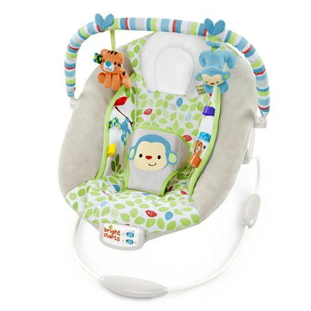 bright starts merry monkeys cradling bouncer. Black Bedroom Furniture Sets. Home Design Ideas