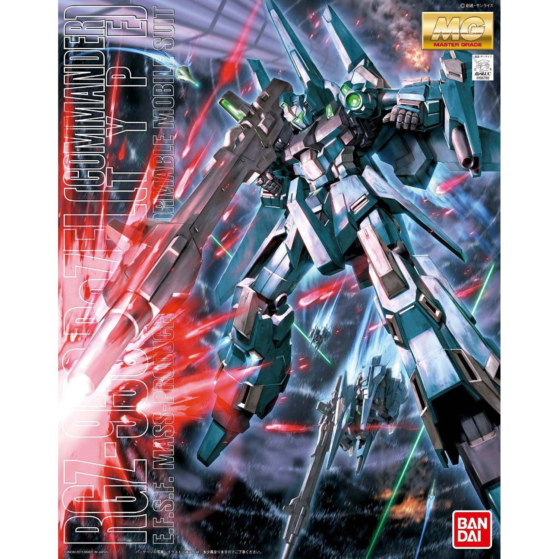 Bandai Hobby Gundam RGZ-95 ReZEL Commander Type 1 100 MG Model Kit by Bandai Hobby