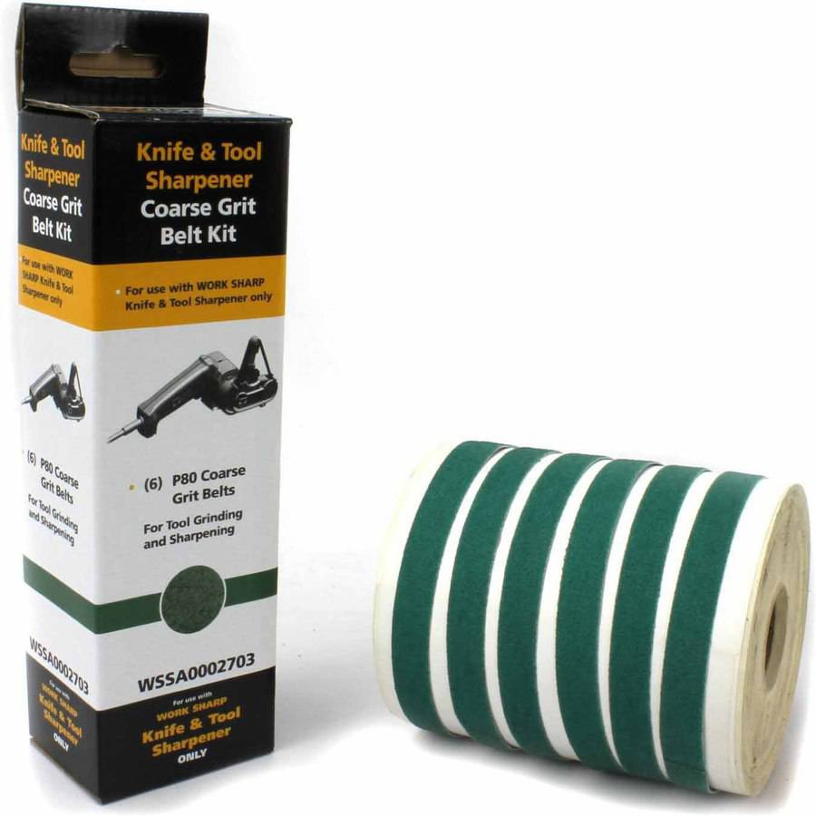 Work Sharp Tools Knife and Tool Sharpener Replacement Belt Kit (WSKTS and WSKTS-KT Only) by Work Sharp Tools