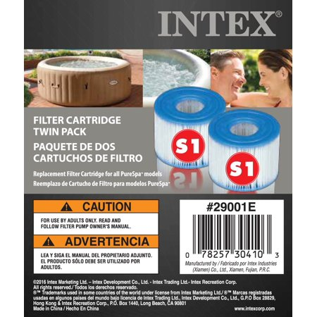 Intex PureSpa Type S1 Easy Set Pool Filter Replacement Cartridges (8 Filters) - image 5 of 7