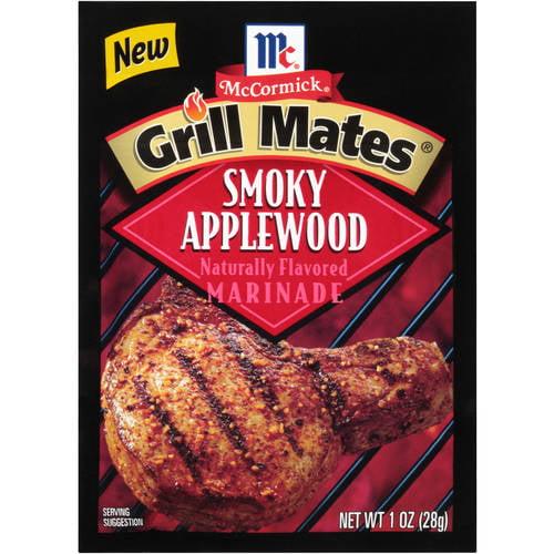 McCormick Grill Mates Smoky Applewood Marinade, 1 oz