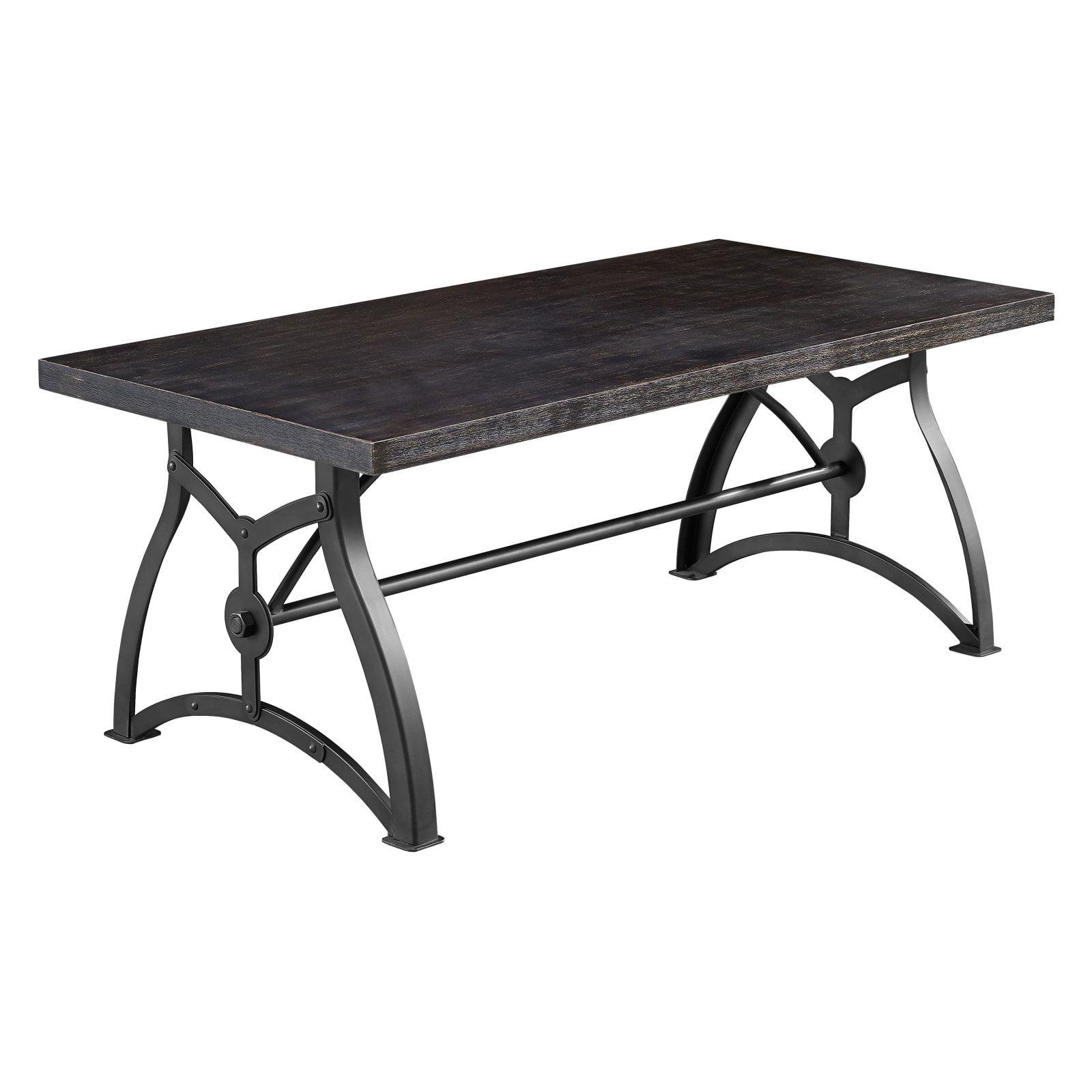 Accentrics Home Tiburon Wood & Metal Cocktail Table
