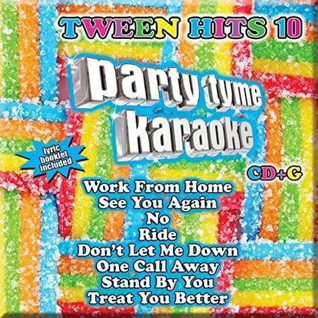 Party Tyme Karaoke: Tween Hits 10 / Various (CD)
