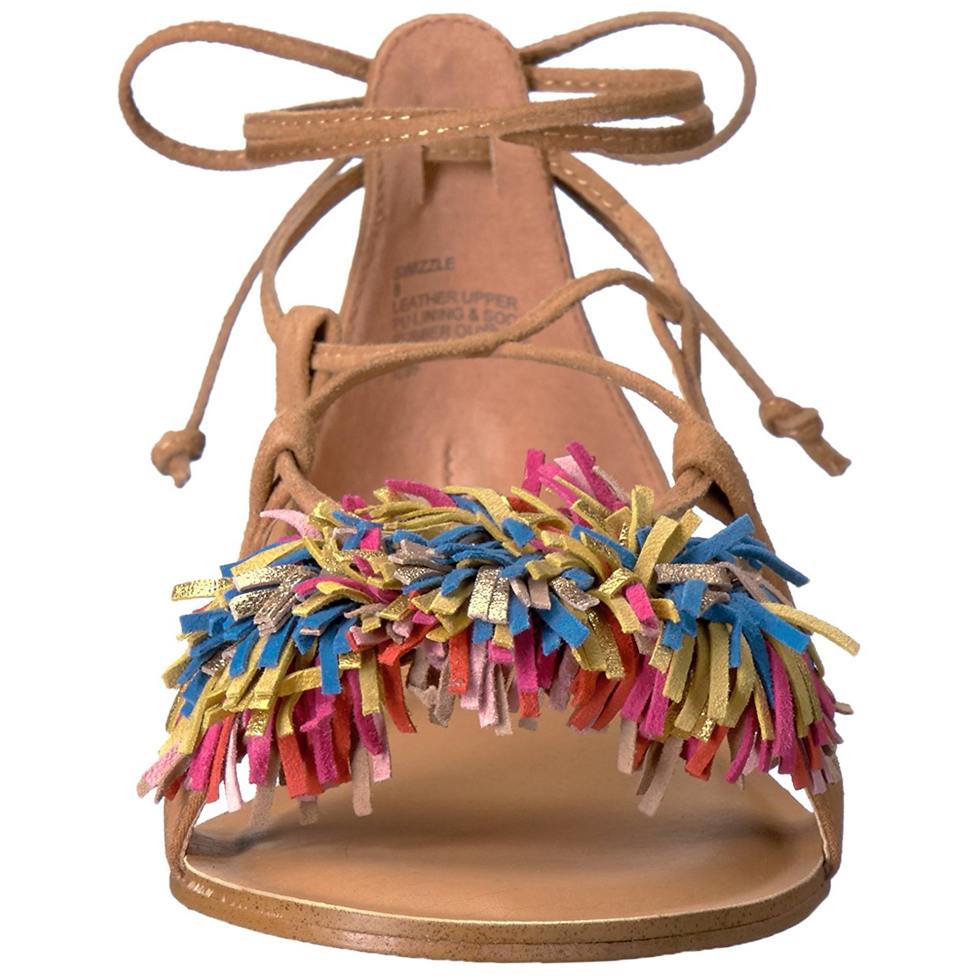 58d8f88c20e Steve Madden Womens Swizzle Leather Open Toe Casual, , | Walmart Canada