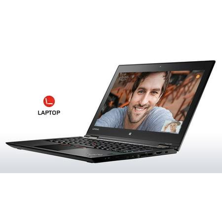 "Lenovo Thinkpad Yoga 260 Convertible Multimode Ultrabook - Intel Core i7-6500U, 16GB RAM, 256GB SSD, 12.5"" IPS Full HD (1920x1080) Touchscreen + Digitizer Pen, Backlit Keyboard, Windows 7 Pro 64-bit"