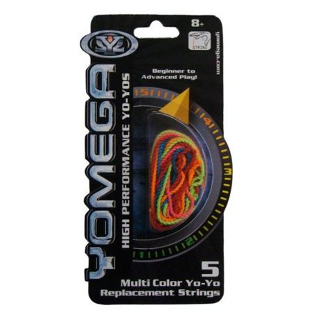 Yomega YoYo Multi-Color Replacement String Multi-Colored