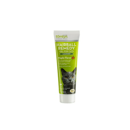 - Tomlyn Laxatone Hairball Remedy Supplement for Cats, Maple Flavor, 2.5 oz.