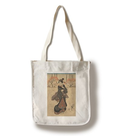 4df9b06e9f8 Three Women - Masterpiece Classic - Artist: Utagawa Yoshitora c. 1847 (100%  Cotton Tote Bag - Reusable)
