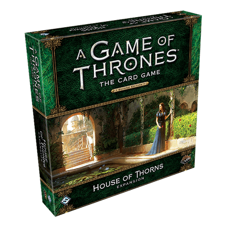 A Game of Thrones: The Card Game Second Edition: House of Thorns Deluxe Expansion