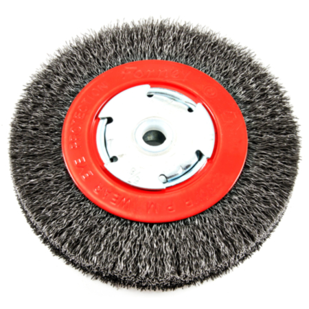 Crimped  Wire Wheel Brush  Metal  6000 rpm 1 pc. Forney  2 in