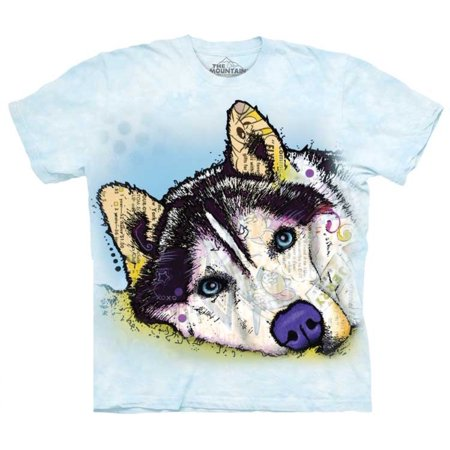 Siberian Husky Gifts (The Mountain RUSSO SIBERIAN HUSKY Blue Youth Unisex)