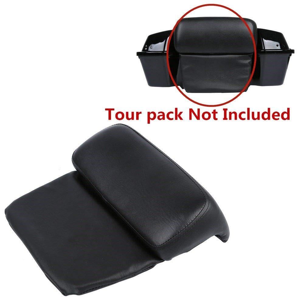 TCT-MT Chopped Razor Tour Pack Backrest Pillow Pad Fit For Harley Road King Glide FLHR FLHTC FLHRSE5 FLHTCUSE8 FLHTK FLTRX 1997-2013 12 11 10 09 08 98 99