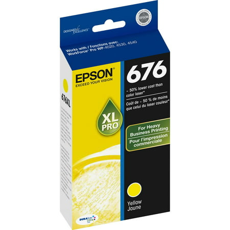 Epson Inkjet Refill Kits (Epson T676XL420 DURABrite Ultra 676 Inkjet Cartridge-Yellow )