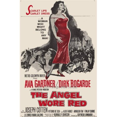 Posterazzi MOVAH9636 The Angel Wore Red Movie Poster - 27 x 40 in. - image 1 de 1