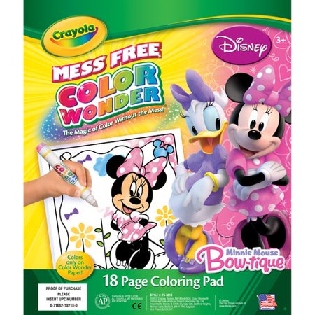crayola disney minnie coloring pages - photo#11