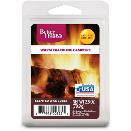 Better homes and gardens warm crackling campfire wax cubes - Better homes and gardens scented wax cubes ...