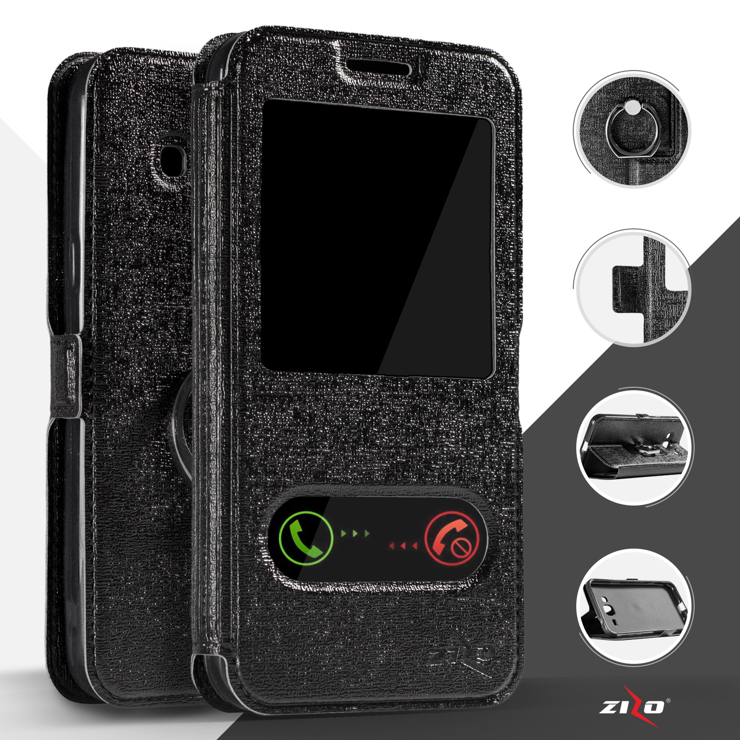 Moonmini Case For Lg Stylus 2 G Stylo Ls775 Shockproof Dual Smartphone 16gb K520dy Zizoreg Window Pouch Wallet Tpu Cover Inside Pu Leather