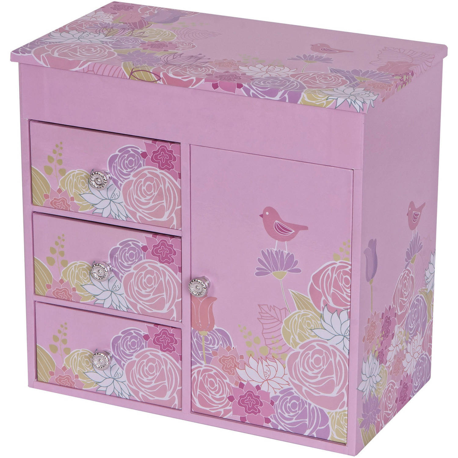 Mele Designs Poppy Girl's Musical Ballerina Jewelry Box