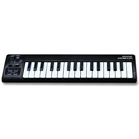 MIDI Keyboard Controller - 32-note Mid-size Key w/ USB PC Connect by