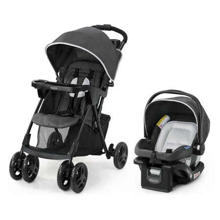 Graco Comfy Cruiser 2.0 Travel System with Infant Car Seat, Canton