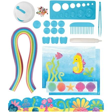 DIY Paper Swirls Mermaid Ocean Kit- - Diy Paper Crown