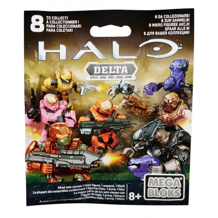 Mega Bloks Halo Micro Action Figure Series Delta Blind Pack - Halo 5 Spartan