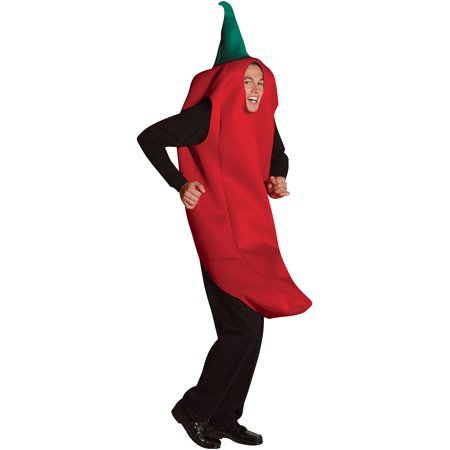 Chili Pepper Adult Halloween Costume (Brian Peppers Halloween)