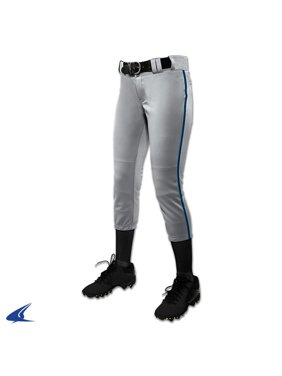 Champro Girl's Low Rise Tournament Fastpitch Pant w/ Piping