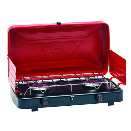 - Texsport Compact Propane Stove Dual Burner 14214