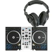 Hercules DJ Control Air S DJ Controller w/ Sennheiser HD280 Pro DJ Headphones
