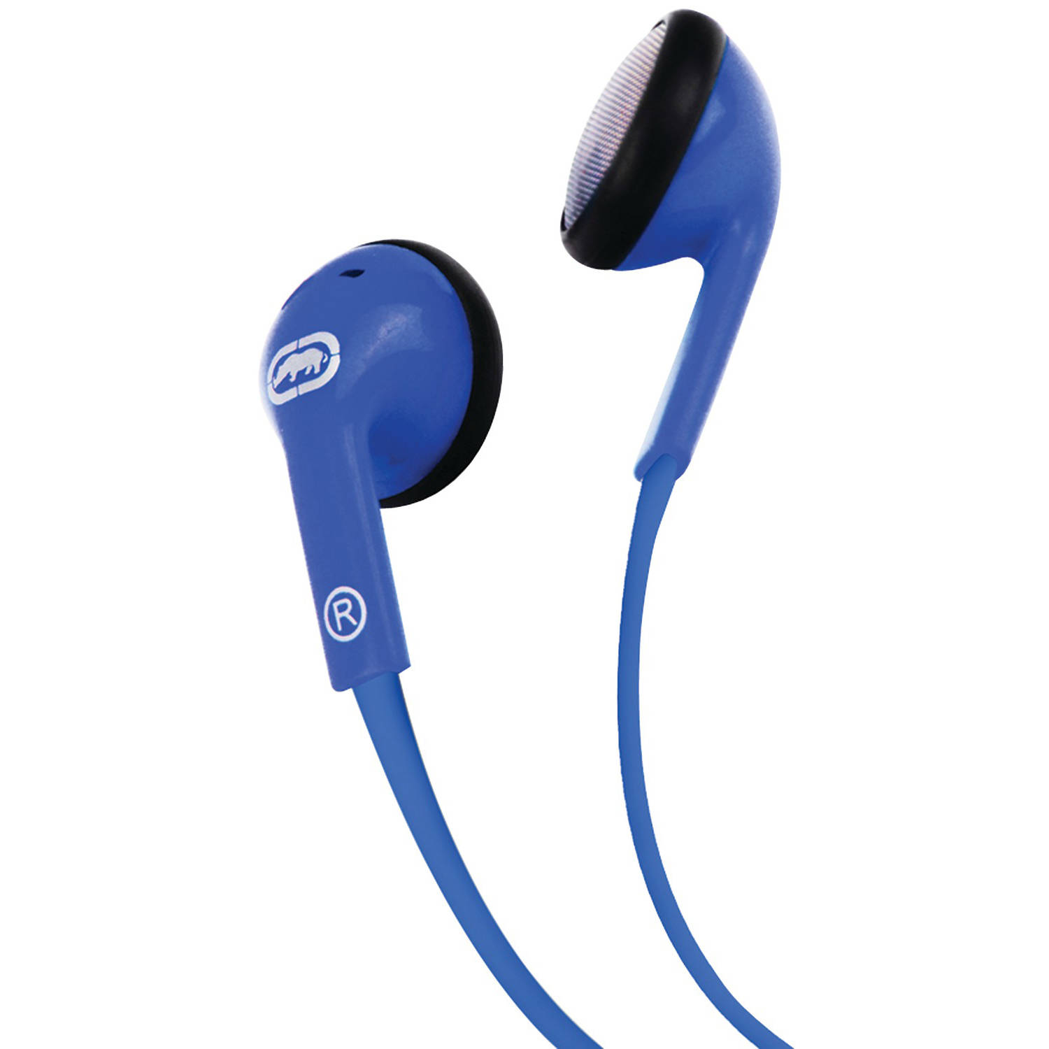 Ecko Unlimited Eku-dme-bl Dome Earbuds with Microphone (Blue)