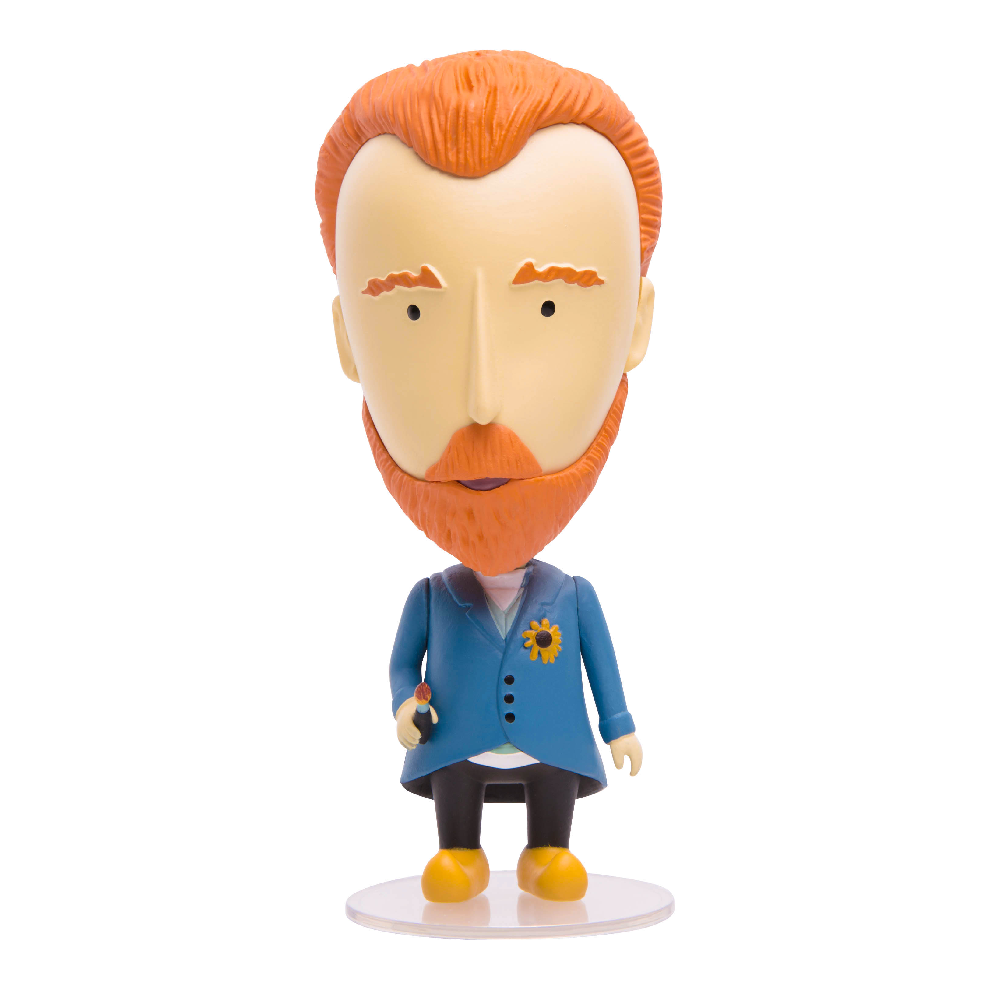 Vincent van Gogh Action Figure by Today Is Art Day