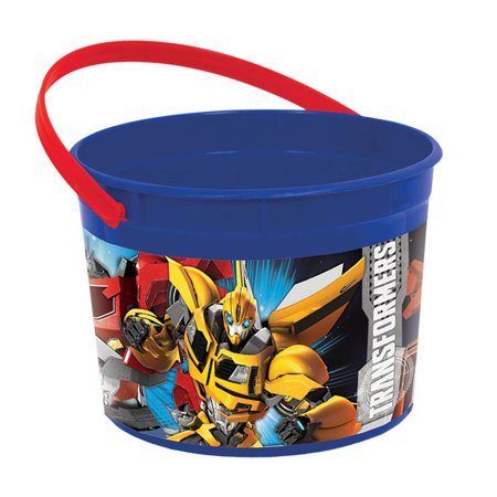 Transformers Plastic Favor Container (Each) - Party Supplies
