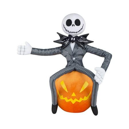The Nightmare Before Christmas Jack Skellington Prop Greeter - It's Halloween Jack Skellington