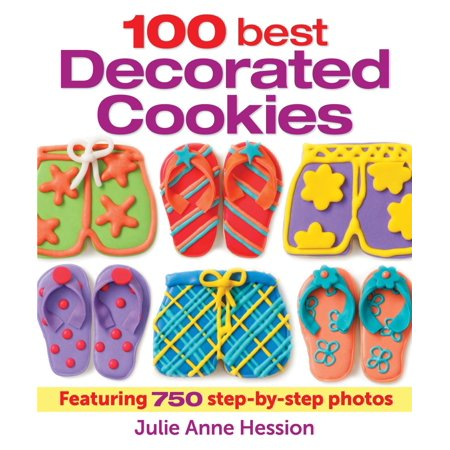 100 Best Decorated Cookies : Featuring 750 Step-By-Step Photos - Halloween Frosted Sugar Cookie Recipe