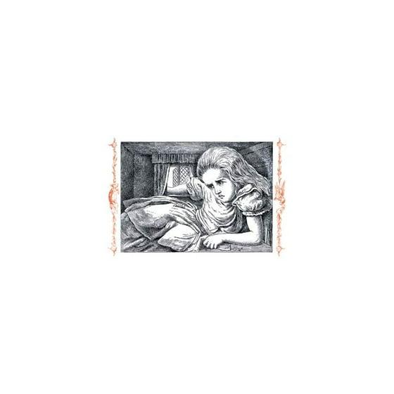 Alice In Wonderland Grows Large Print Unframed Paper 20x30