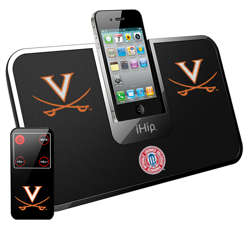 iHip Virginia Cavaliers Portable Idock With Remote