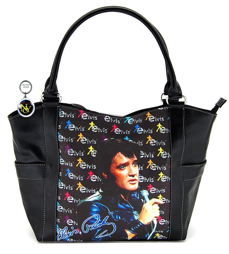Elvis Presley Large Purse, Black Jacket