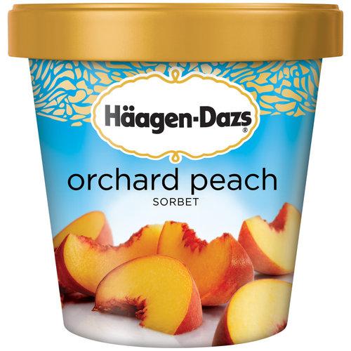 HAAGEN-DAZS Orchard Peach Sorbet 14 fl. oz. Carton
