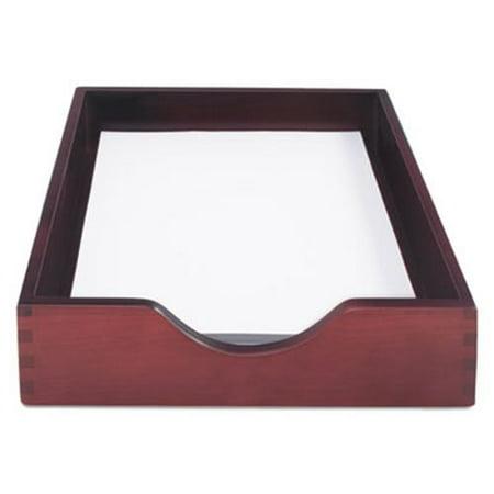 Carver Hardwood Letter Stackable Desk Tray, Mahogany (Carver Hedberg Letter)