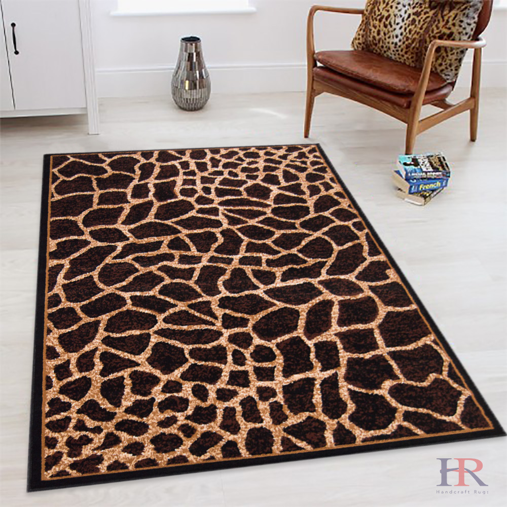 Handcraft Rugs Animal Skin Rug.Animal Print Area Rug